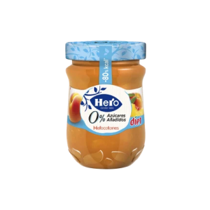 I106 Hero Diet, Confiture à la pêche 280g