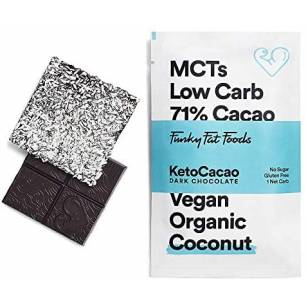 DF302 Funky Fat Choc, Dark Chocolate, vegan coconut, 50 g