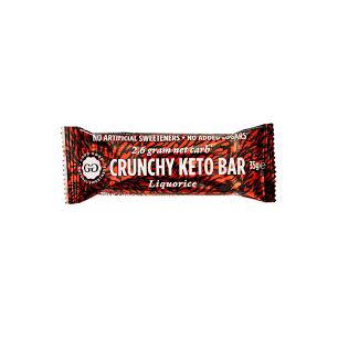 DE202 GoodGood Crunchy Keto Liquorice, 35 g