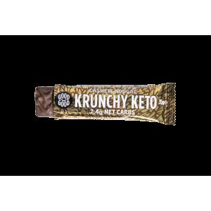 DE204 GoodGood Krunchy Keto Cashew Nougat, 35 g