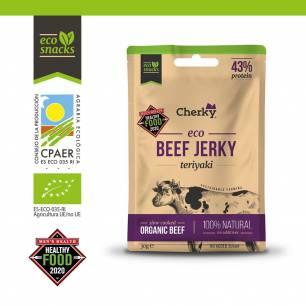 M203 Cherky Foods, Beef Jerky Teriyaki, 30 g
