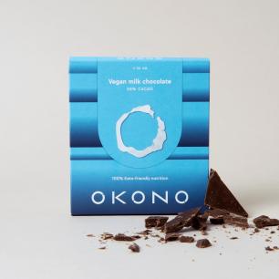 DF201 Okono, vegan milk chocolate, 50 g