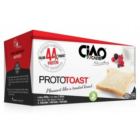 Ciao Carb Proto Toast 4 x 50 g protéiné