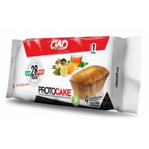 Proto cake vanille/citron 4X45 g CIAOCARB