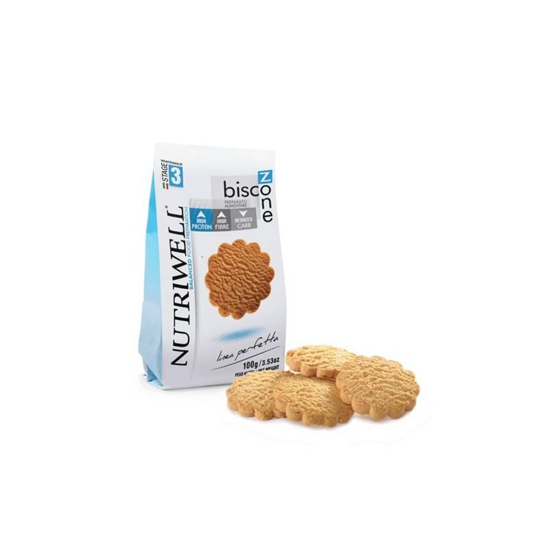 Biscozone Nutriwell 100 g saveur noisette