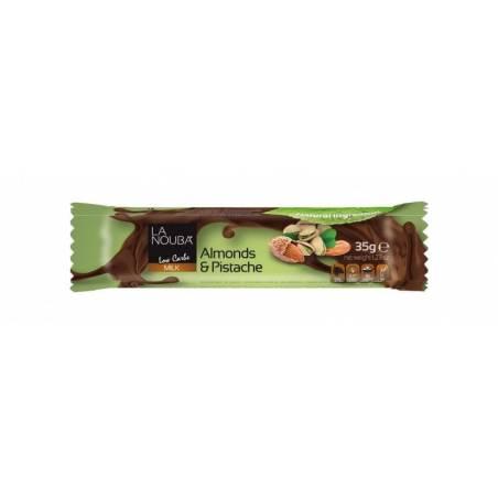 Milk Pistache and almonds 35 g