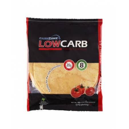 Tortilla Tomate low carb CarbZone 320g