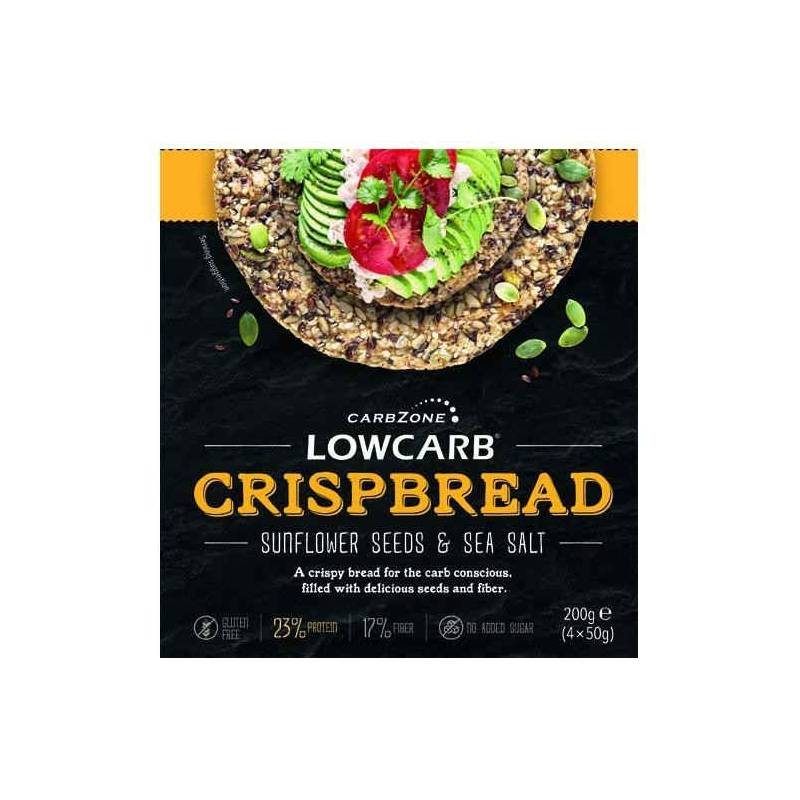 Low carb Crispbread