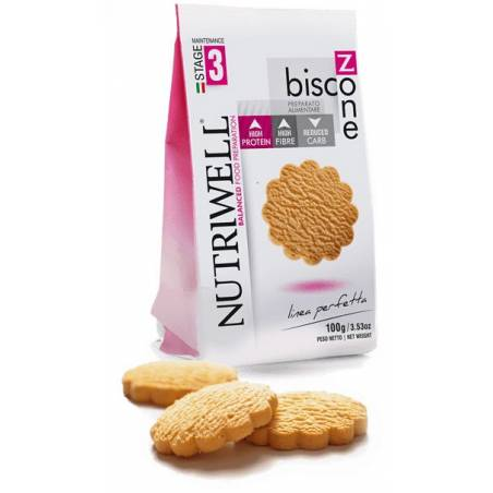 Biscozone Nutriwell 100 g saveur vanille-citron