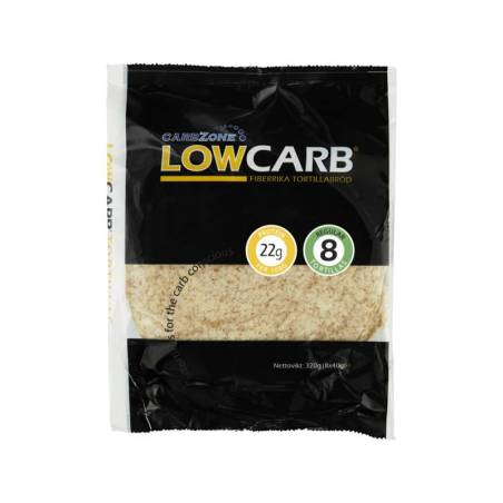 Tortilla low carb CarbZone 320g