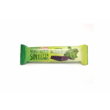 Barre chocolat noir / menthe- Torras, 35 g
