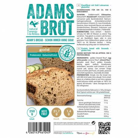 Adams Brot Gold 250 g