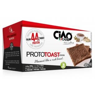 ProtoToast chocolat 4x50 g CiaoCarb