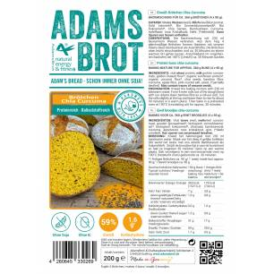 Adams Brot Brotchen chia curcuma 200 g