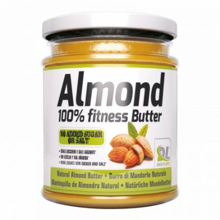 Almond 100 % fitness butter