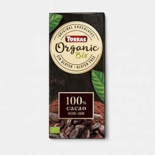 Chocolat noir 100% cacao...