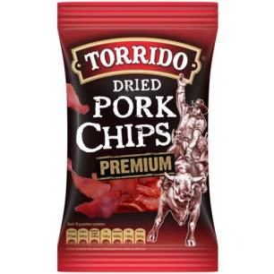 Torrido dried pork chips...