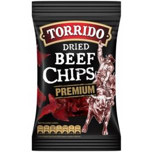 Torrido dried beef chips...