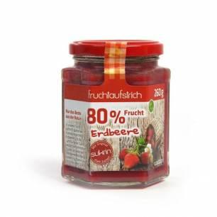 Sukrin Confiture fraise, 260 g