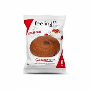 E204 Feeling Ok Sandwich Cacao, 50 g