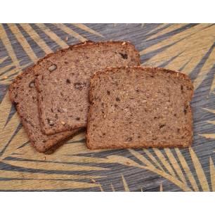 Délices Low Carb Pain low carb aux noix en tranches 250 g